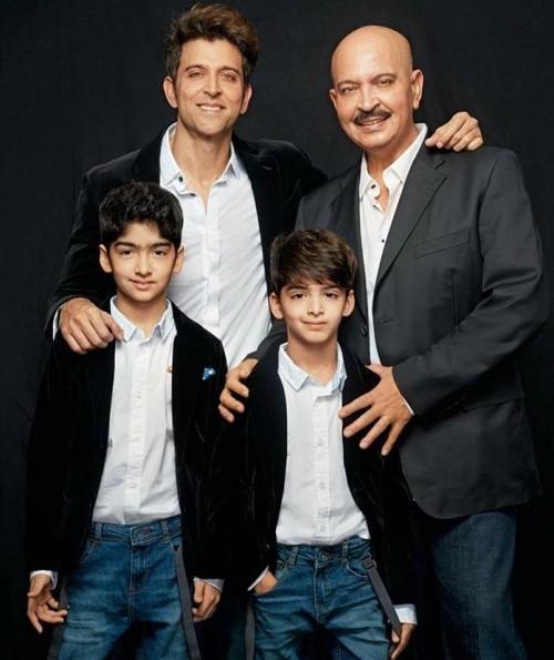 Want similar black blazer with white shirt that Hrithik Roshan was wearing during the photoshoot of Hello! Magazine - SeenIt