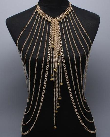 Need this golden body chain. Seen it? - SeenIt