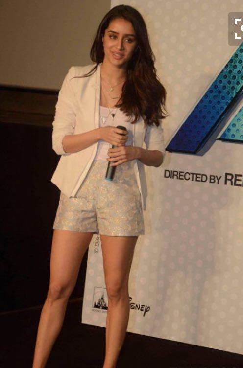 Want the white jacket , white top, printed shorts that Shraddha Kapoor is wearing - SeenIt
