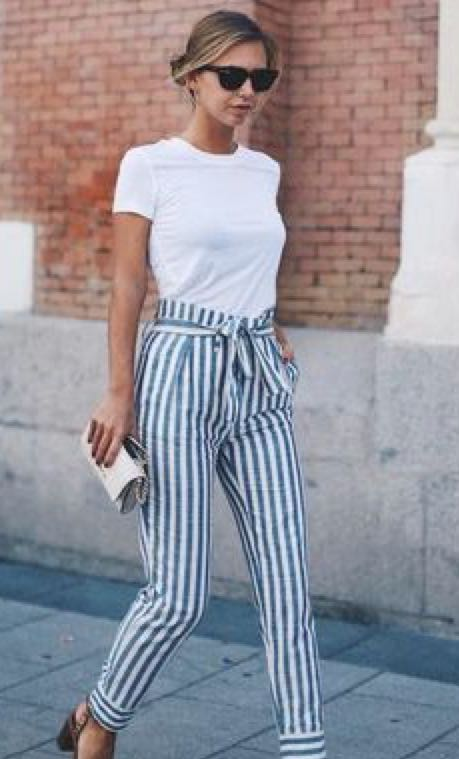 Want these striped pants - SeenIt