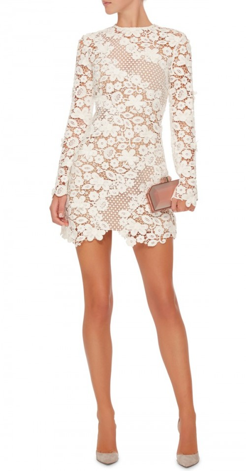 Want this white floral mini dress which is my latest obsession - SeenIt