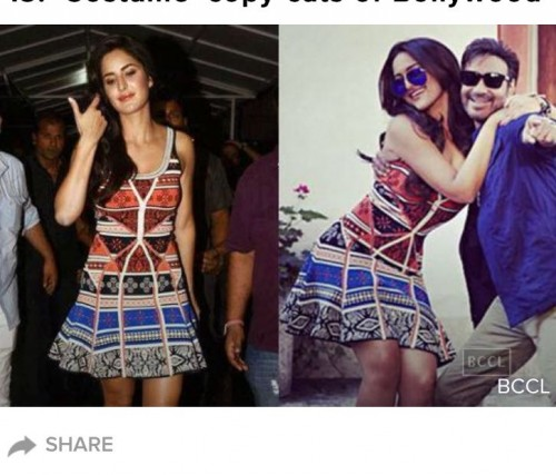 Pls find the dress both Katrina and sonakshi r wearing. International or US sites only pls. TY! - SeenIt