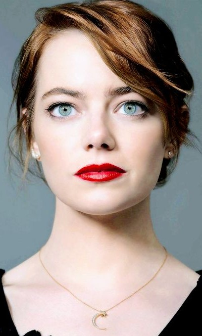 Want similar red color lipstick that Emma Stone is wearing. - SeenIt