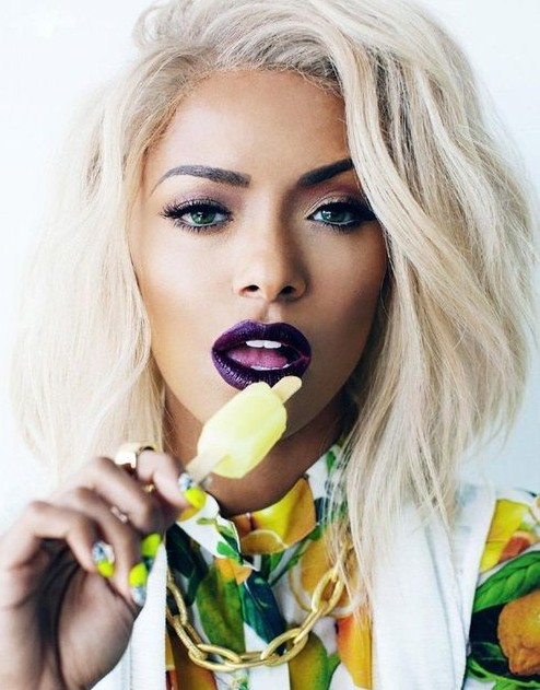 Yay or Nay? The purple lipstick that Kat Graham is wearing - SeenIt