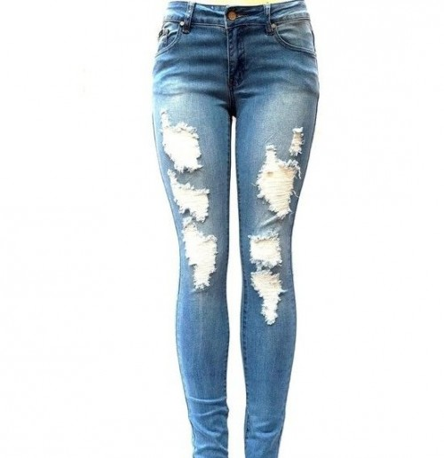 i want these ripped skinny pants - SeenIt