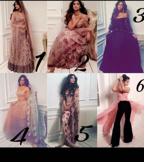 Want all the outfits , that sonam Kapoor wore , the ethnic floral and digital print ones - SeenIt