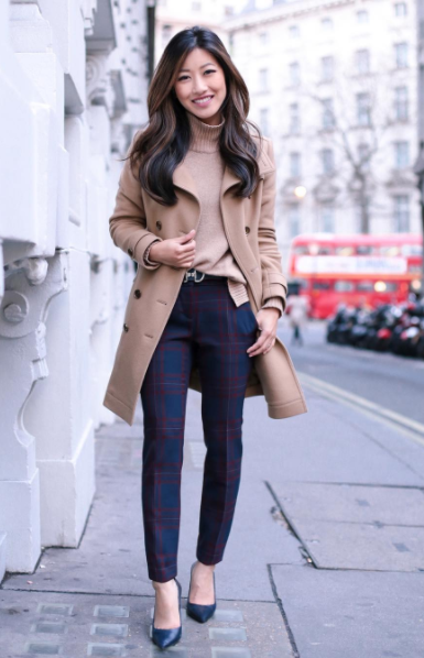 Someone please help me find those chic af plaid pants! - SeenIt