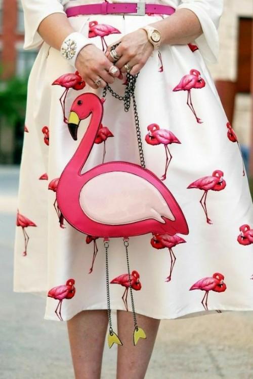want this flamingo bag - SeenIt