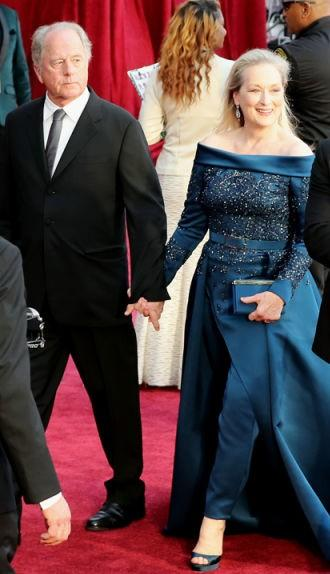 Yay or Nay? Meryl Streep wearing an Elie Saab couture dress at the Oscars 2017 - SeenIt