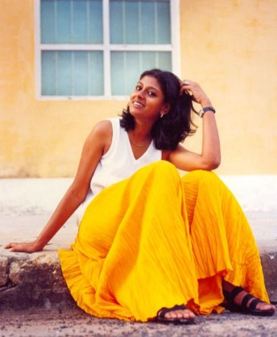 Looking for the yellow long skirt that Nandita Das is wearing - SeenIt