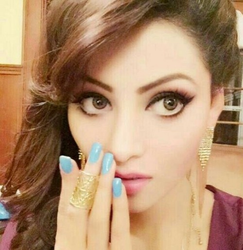 Looking for the blue nailpolish that UrvashiRautela is wearing - SeenIt