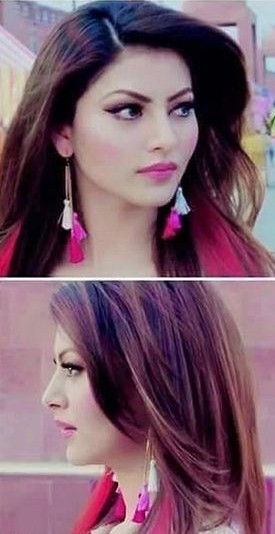 Looking for these colorful tassel earrings that Urvashi Rautela is wearing - SeenIt