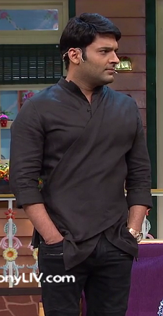 I love this kurta worn by Kapil . Please find a similar one. - SeenIt