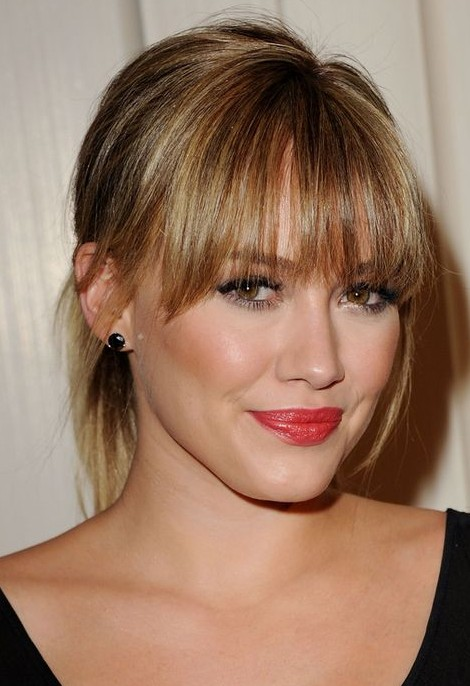 Looking for this red lipstick that Hilary Duff is wearing - SeenIt