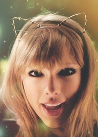 Looking for the cat-ear hairbands that Taylor Swift is wearing - SeenIt