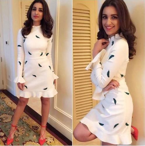 Yay or Nay? Parineeti Chopra in this white printed dress - SeenIt