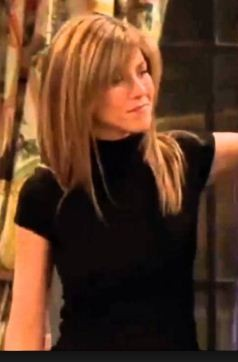 Looking for similar high neck short sleeved top like rachel green in f.r.i.e.n.d.s - SeenIt