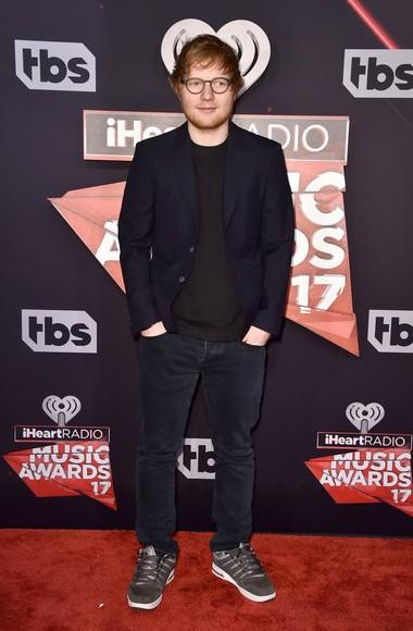 Yay or Nay? Ed Sheeran attended the iHeart Radio music awards last night - SeenIt