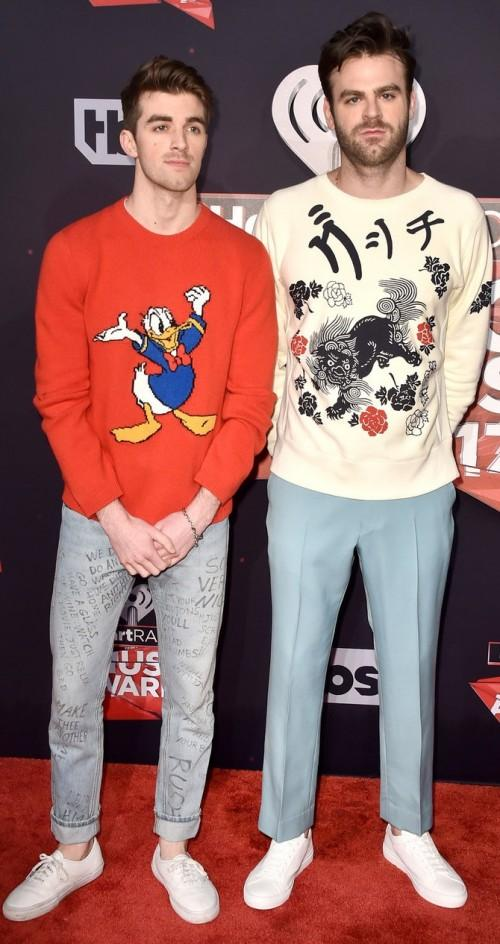 Yay or Nay? The Chainsmokers also attended the iHeart Radio music awards - SeenIt