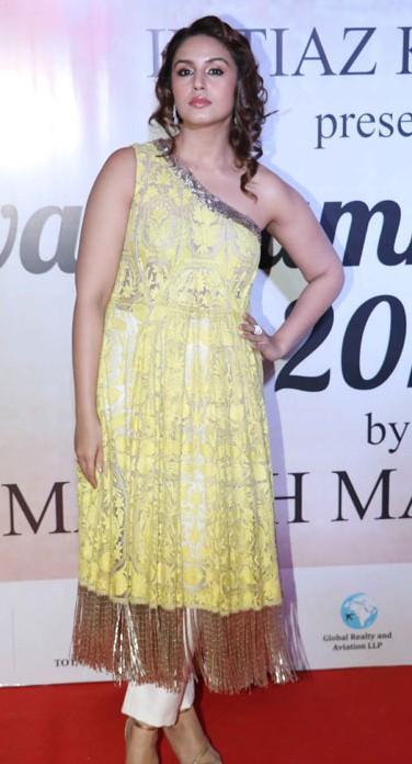 Yay or Nay?  Huma Qureshi attended the Mijwan summer fashion show by Manish Malhotra - SeenIt