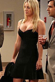 want a similar little black dress like penny is wearing - SeenIt