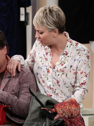 want a similar white floral print shirt penny wore in big bang theory - SeenIt