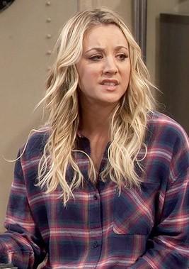 want penny's blue and pink plaid shirt , help me find one online - SeenIt