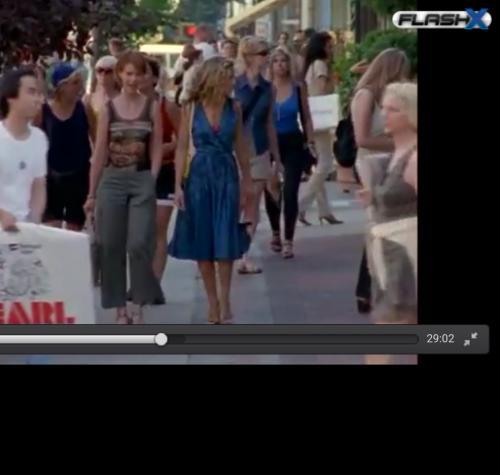 need Carrie's blue dress. Indian website. - SeenIt