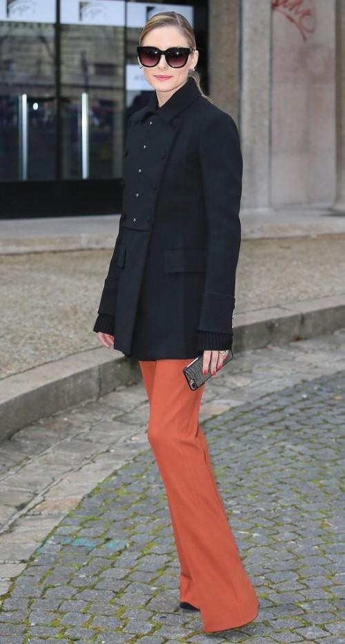 Yay or Nay? Olivia Palermo spotted at Miu Miu during Paris fashion week - SeenIt