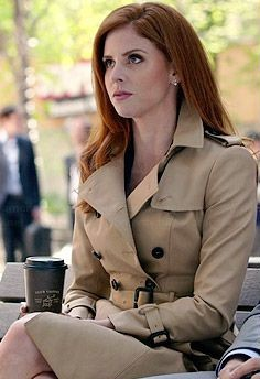 want a similar beige trench coat like donna wore in suits - SeenIt