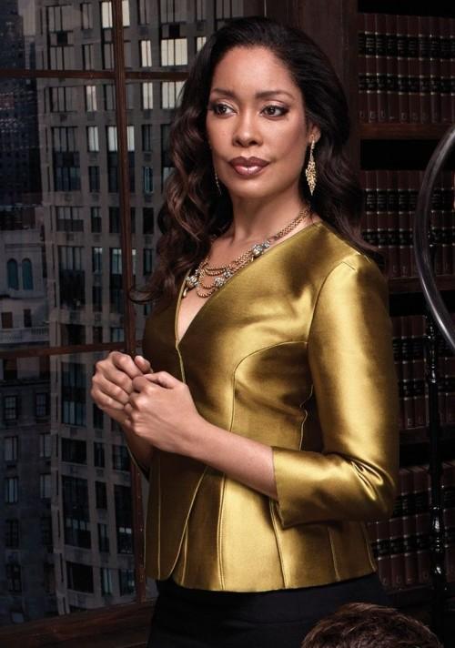 Similar to this metallic Blazer/Blouse that Gina Torres is wearing . Preferably Indian sites. - SeenIt