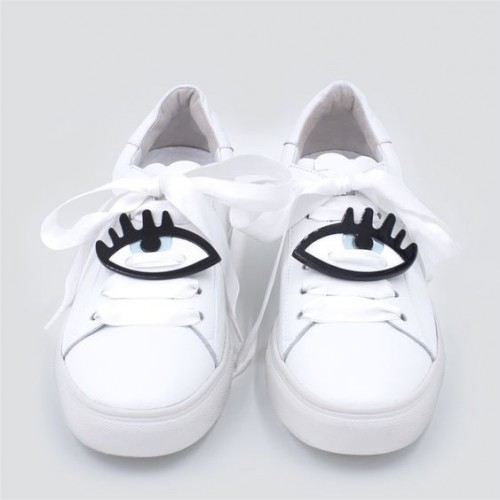 Yay or Nay? Need your view on these white quirky eye patched sneakers. - SeenIt