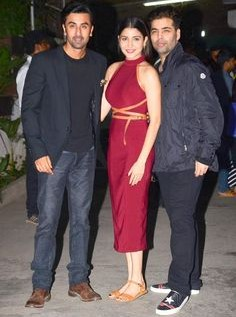 Looking for the red midi dress that Anushka Sharma was wearing - SeenIt