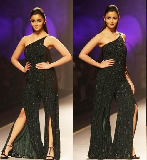 Yay or Nay? Alia Bhatt as the showstopper for Namrata Joshpura on the day 3 of Amazon fashion week Autumn Winter 17 - SeenIt