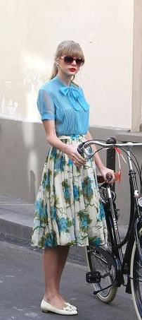 The top and skirt, something similar please! - SeenIt