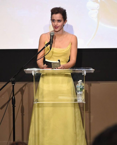 Yay or Nay? Emma Watson in this yellow gown - SeenIt