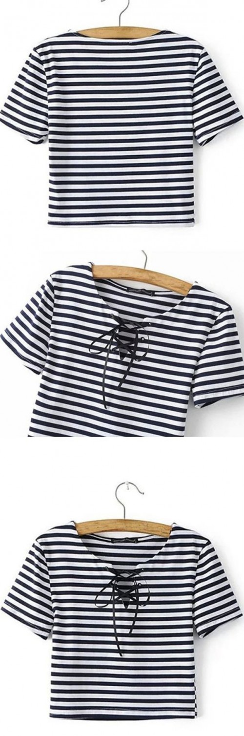 Want the striped crop top - SeenIt