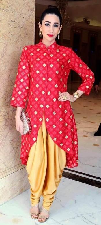 want a similar  red kurta like karisma Kapoor ios wearing - SeenIt