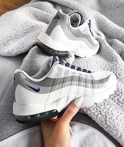 Need these grey and white sneakers. - SeenIt