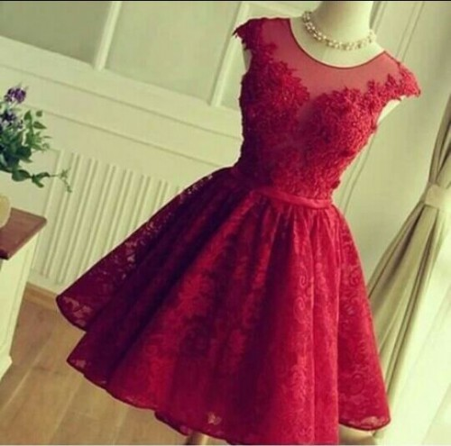 Yay or Nay ?? this red skater dress - SeenIt