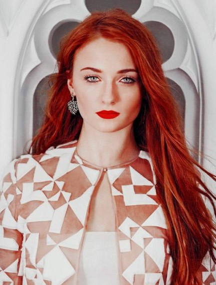 Looking for the red lipstick that Sophie Turner is wearing - SeenIt