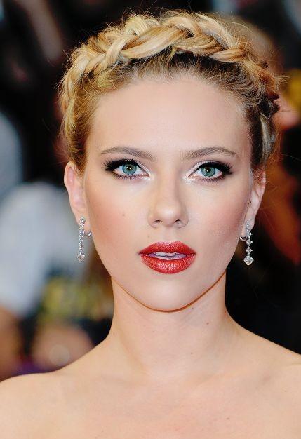 Want Scarlett Johansson's exact red shade of lipstick. - SeenIt