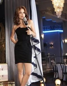 can I find a similar black tube short dress like Haley's - SeenIt