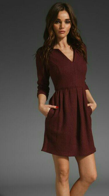 Want this maroon dress - SeenIt
