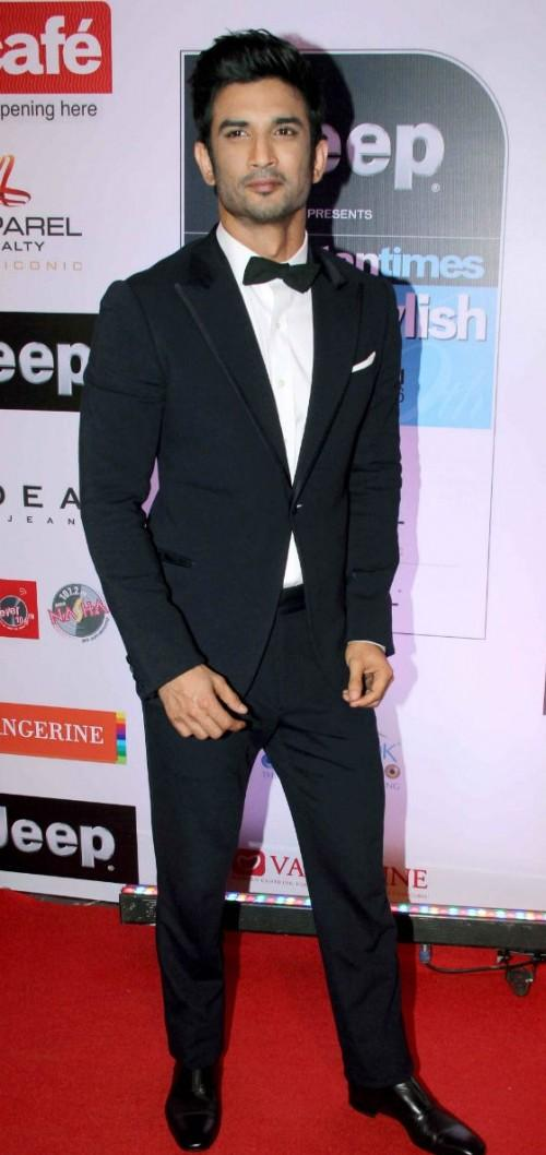 Yay or Nay? Sushant Singh Rajput wore an Armani tuxedo to the HT most stylish awards event held in Mumbai - SeenIt