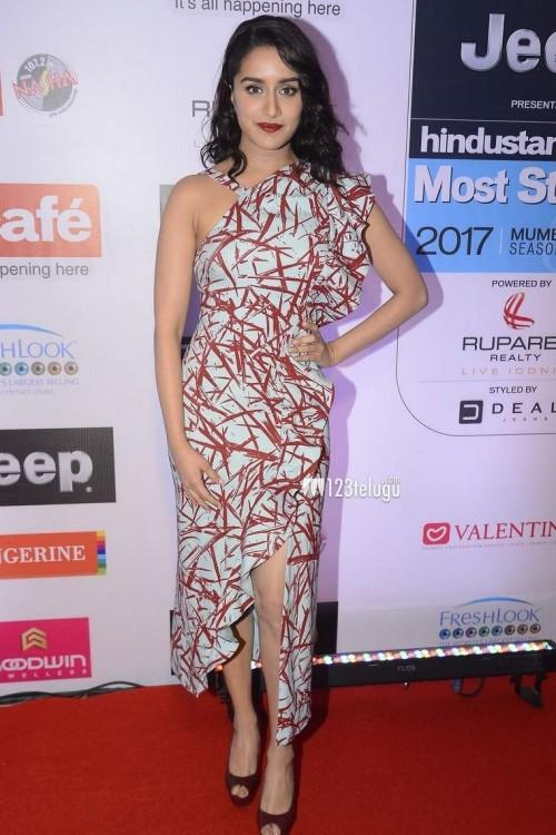 Yay or Nay? Shradha Kapoor wearing a single shoulder dress at the HT most stylish awards last night - SeenIt
