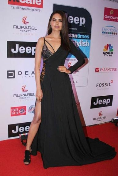 Yay or Nay? Esha Gupta wearing a custom made Nikhil Thampi gown at the HT most stylish awards event last night - SeenIt