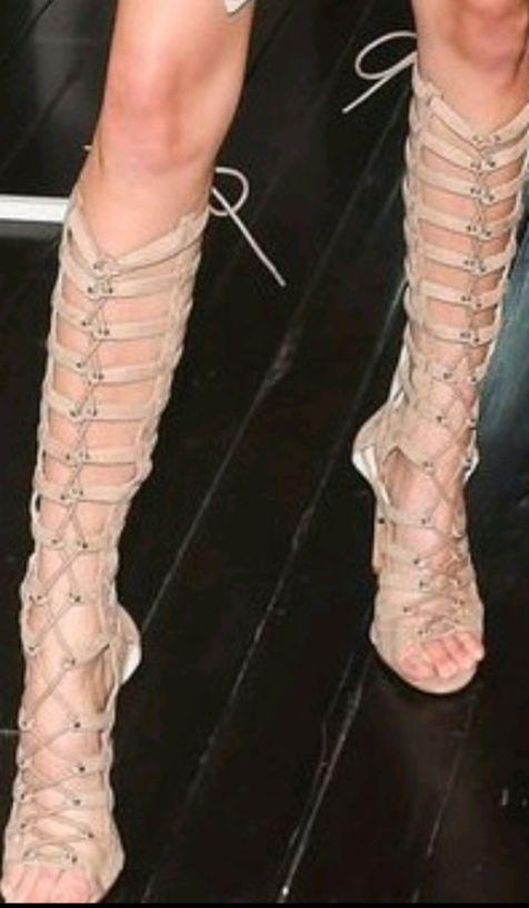 need similar lace-up gladiators - SeenIt
