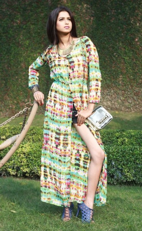 This multi colour printed boho maxi dress is a must have this season. Help me find it. - SeenIt