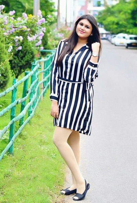 Need this black and white striped shirt dress. - SeenIt